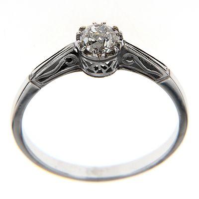 Pierścionek z diamentem B_427