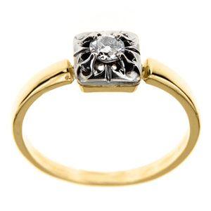 Pierścionek z diamentem B_431