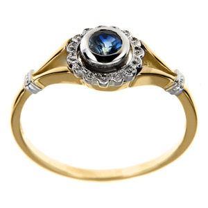 pierścionki zaręczynowe z brylantem